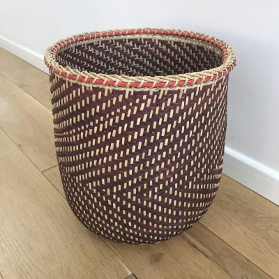 Small and ethnic storage basket