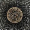 Gorgeous detail of this handwoven storage basket