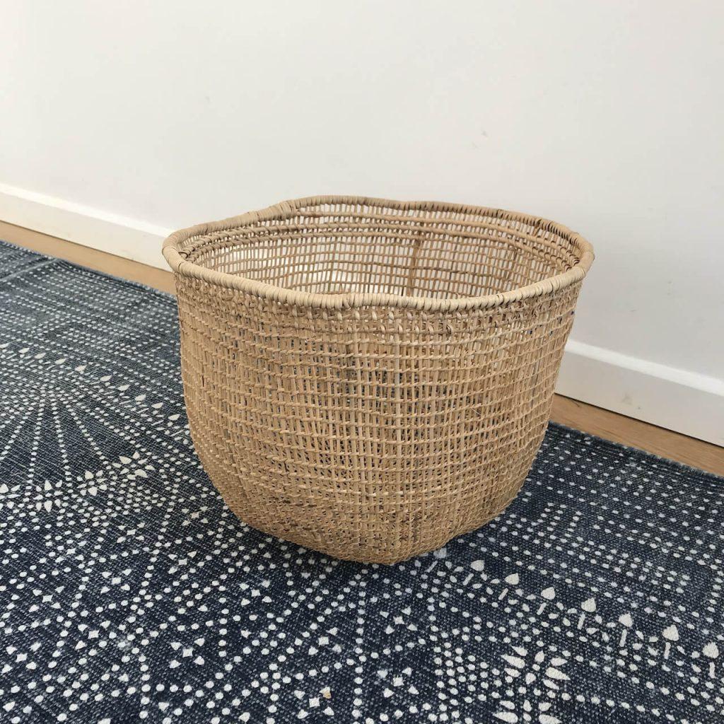 Small basket for children storage
