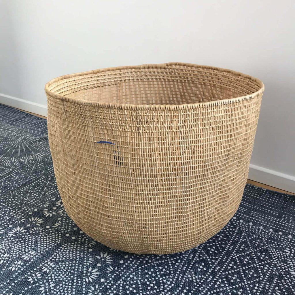 extra large handmade storage basket